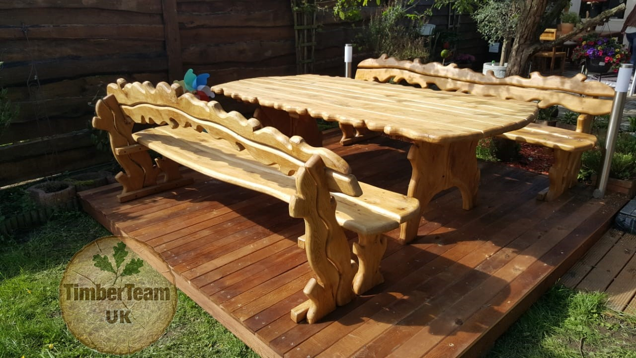 Our outdoor furniture is functional durable impregnated and resistant to environmental influences for outdoor furniture you can individually choose wood